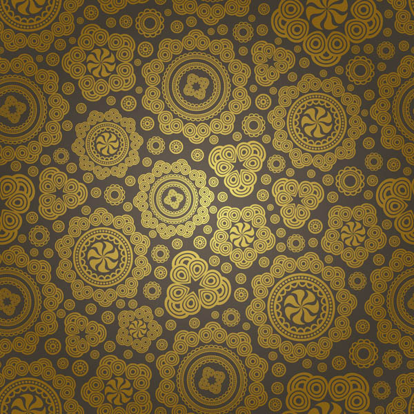Gorgeous classic pattern background (18050) Free EPS ...