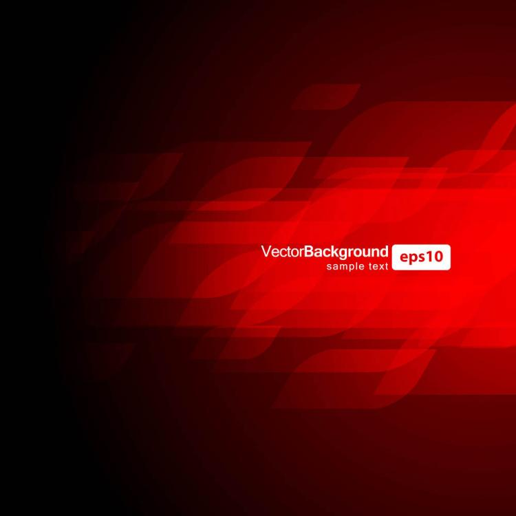 free vector Gorgeous dynamic red background box 03 vector