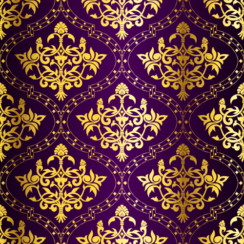 free vector Gorgeous fabric pattern background vector 2