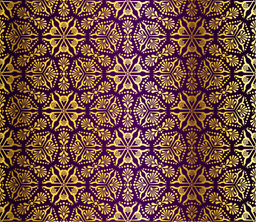 free vector Gorgeous fabric pattern background vector 4