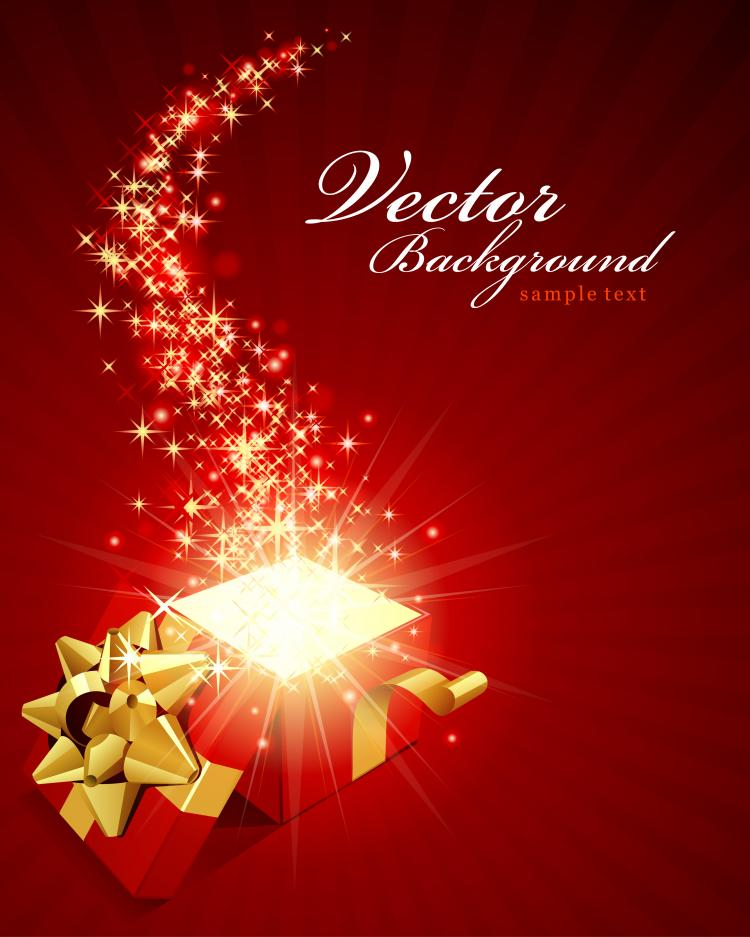 free vector Gorgeous festive background 02 vector