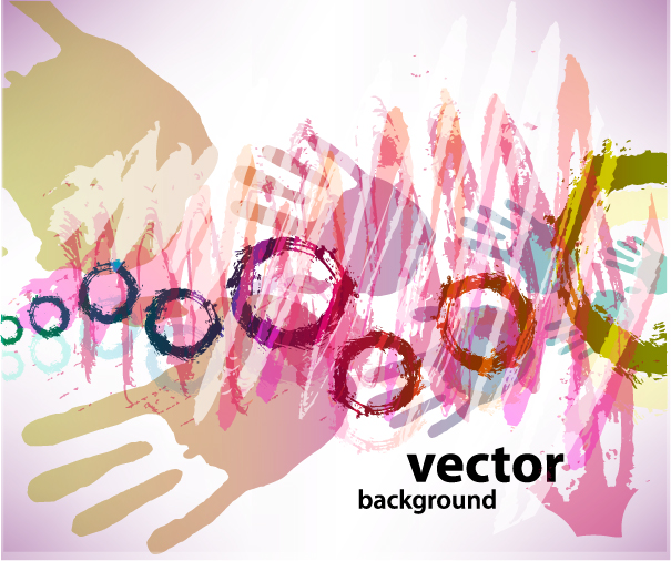 free vector Gorgeous fingerprint vector
