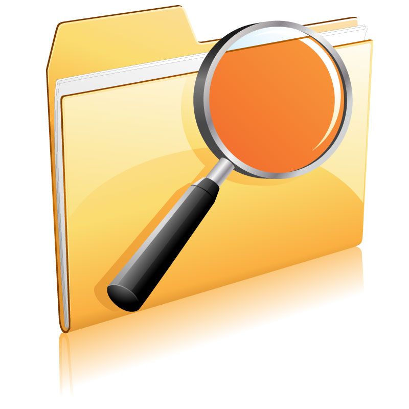 free vector Gorgeous folder icon vector