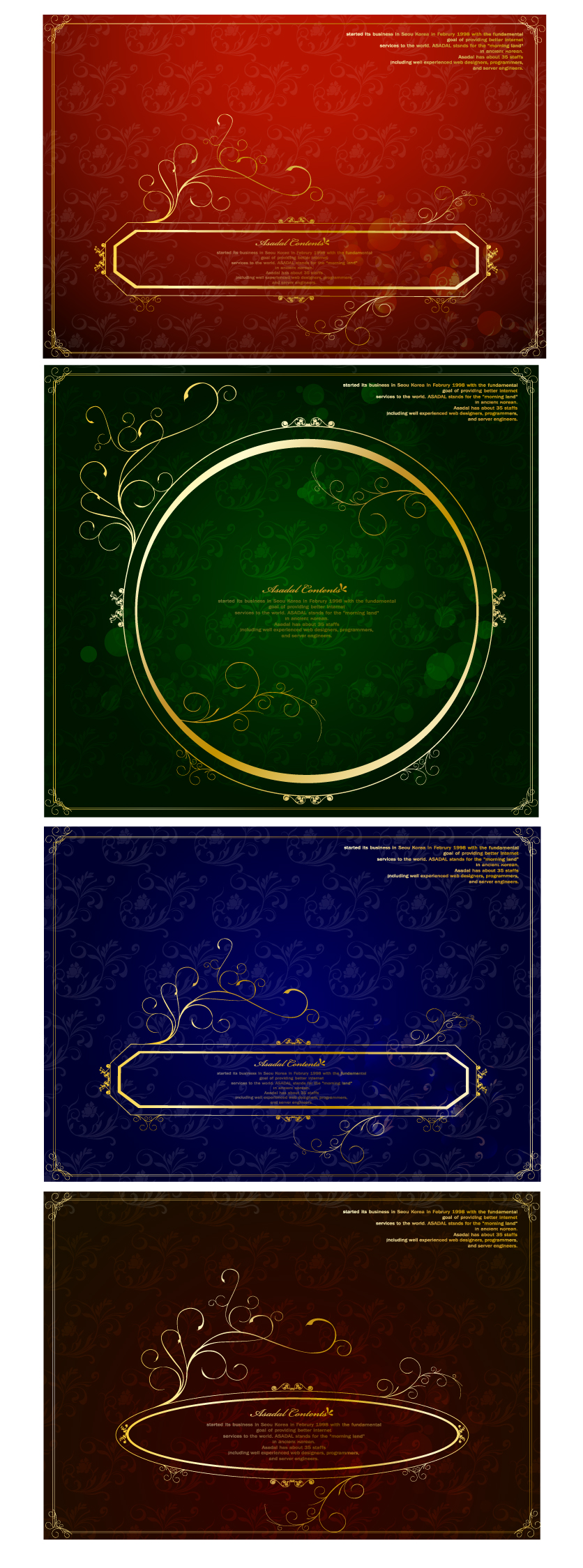 free vector Gorgeous gold lace border vector clip 5