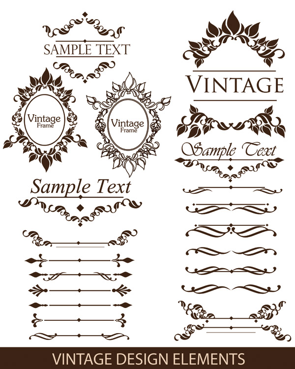 Free Vector Gorgeous Lace Pattern