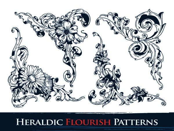 free vector Gorgeous pattern vector