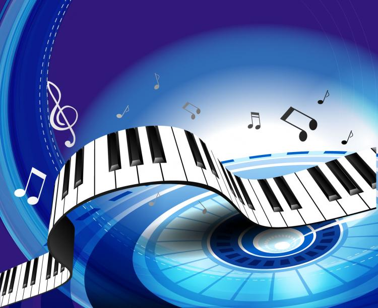 free vector Gorgeous piano key background 04 vector