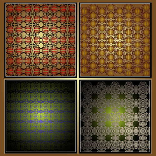 free vector Gorgeous shading background 02 vector