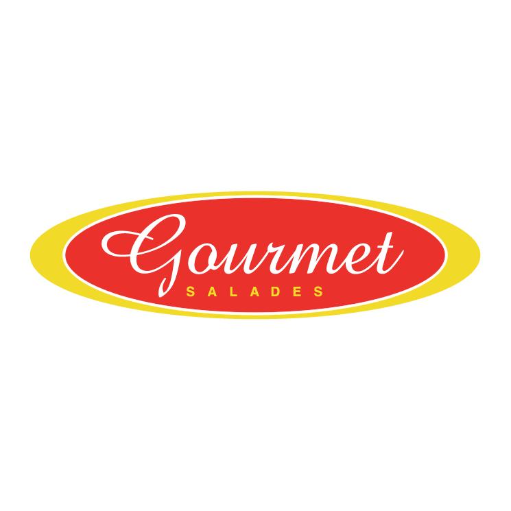 free vector Gourmet salades