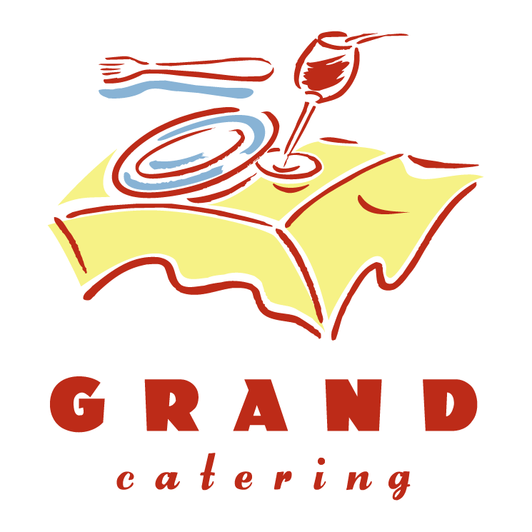 free vector Grand catering