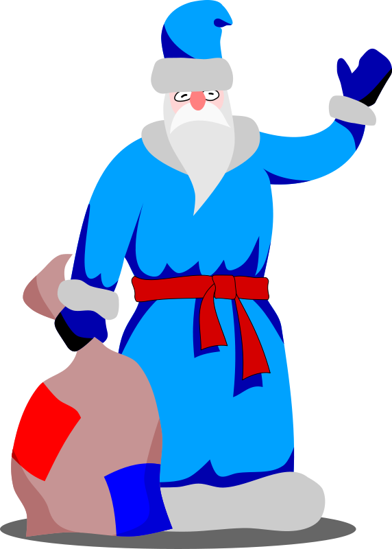 free vector Grandpa Frost by Rones