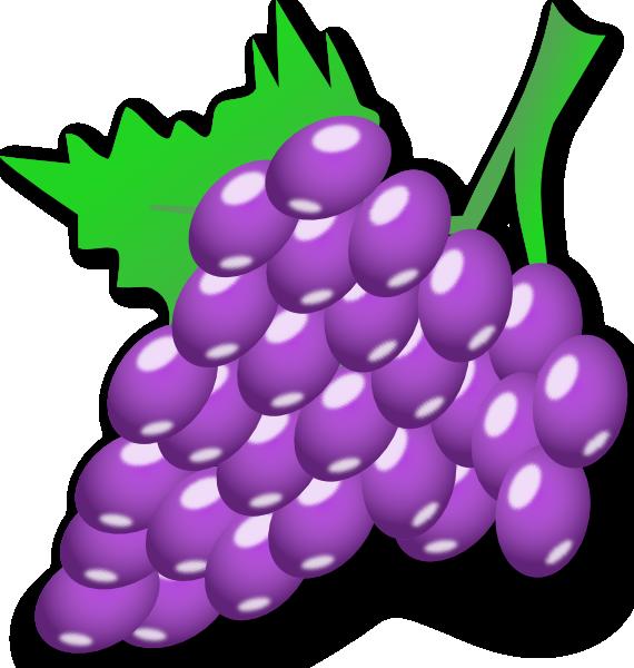 free vector Grapes clip art