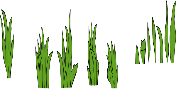 free vector Grass Blades And Clumps clip art