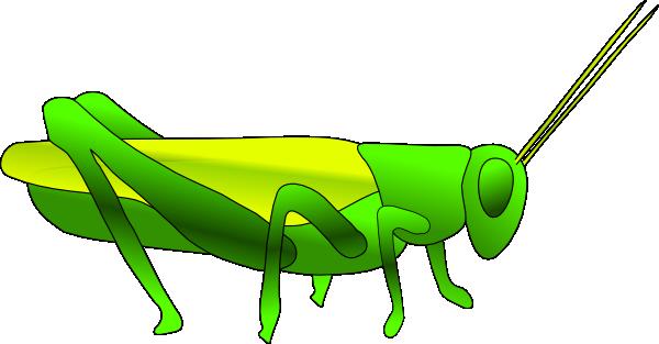 free vector Grass Hopper clip art