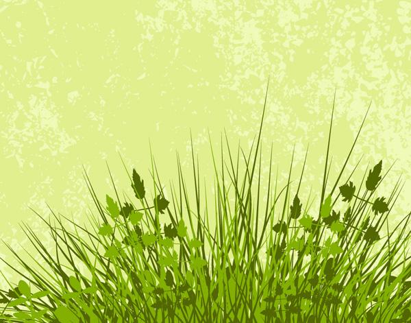 free vector Grass material vector