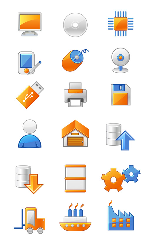 free vector Gray often useful vector icons 2