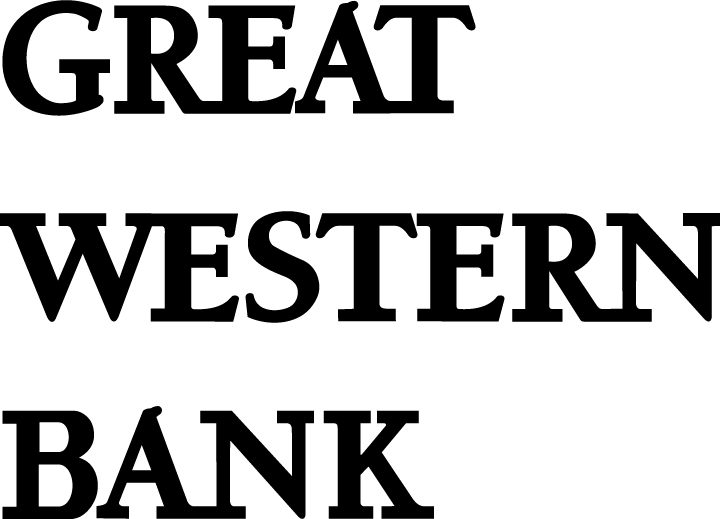 free vector Great Western Bank logo2