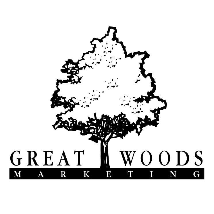 free vector Great woods marketing