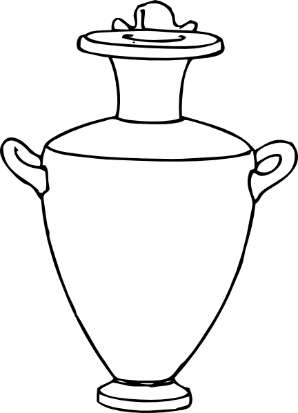 free vector Greek Amphora Pottery clip art