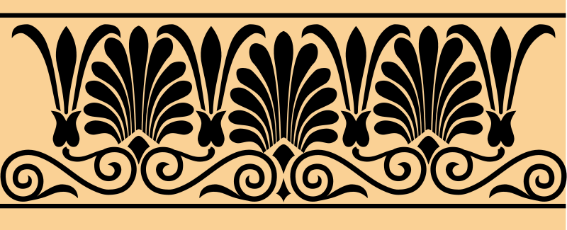 free vector Greek Arabesque #1