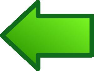 free vector Green Arrows Set Left clip art