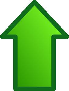 free vector Green Arrows Set Up clip art
