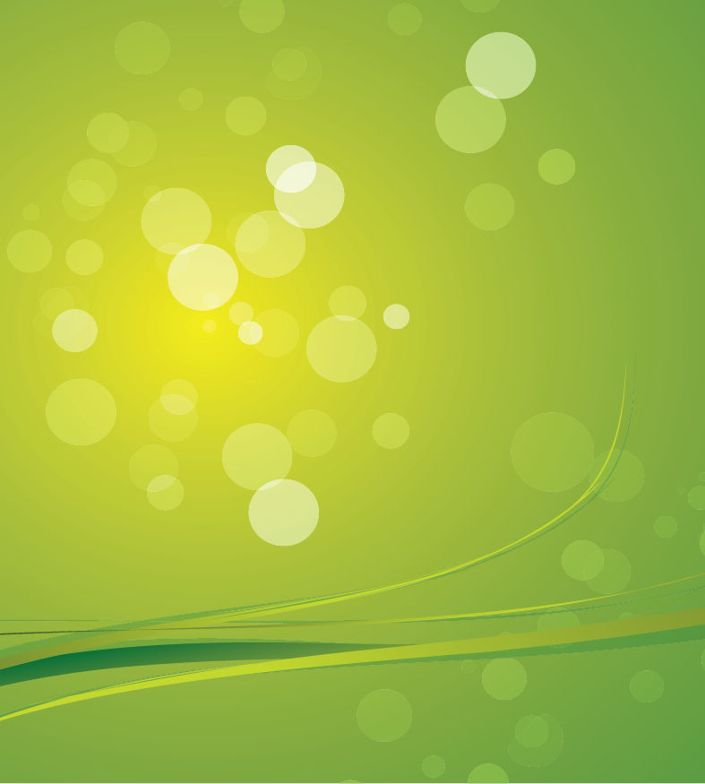 free vector Green Bokeh Abstract Light Background Vector Graphic