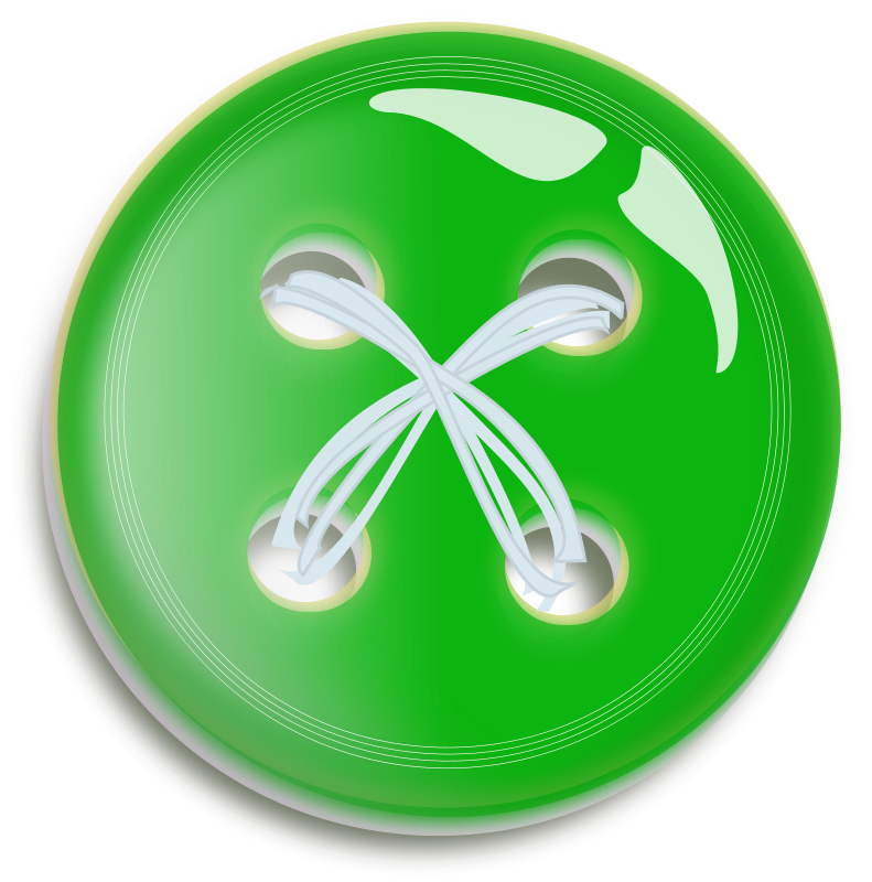 Green button button free vector 4vector - Green button ...