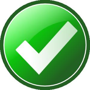 free vector Green Checkmark clip art