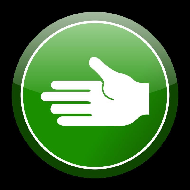 Hand Icon 101969 Iconpng