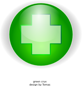 free vector Green Cross clip art