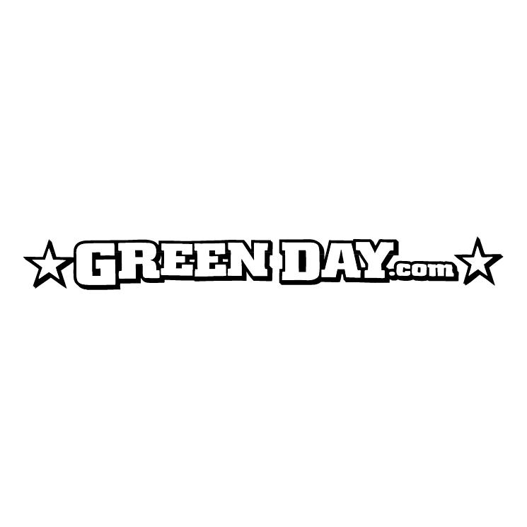 free vector Green daycom