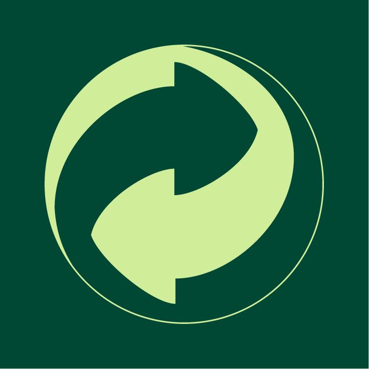 free vector Green dot 0