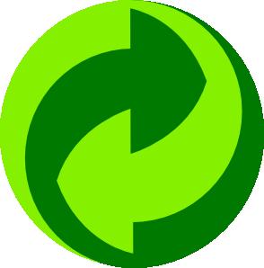 free vector Green Dot Gruener Punkt clip art