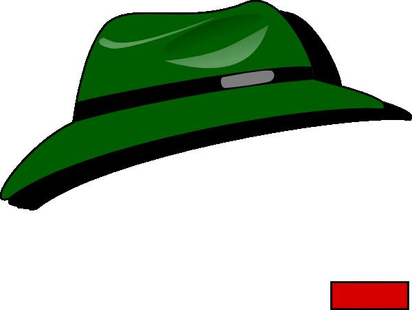 free vector Green Fedora clip art