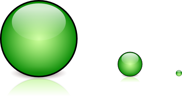 free vector Green Glassbutton With Shadow clip art
