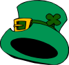 free vector Green Hat clip art