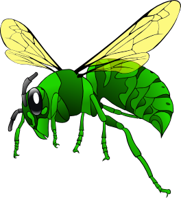 free vector Green Hornet clip art