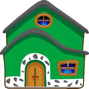 free vector Green House Energy clip art