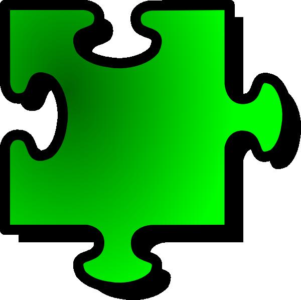 ... -jigsaw-piece-clip-art_115542_Green_Jigsaw_Piece_clip_art_hight.png