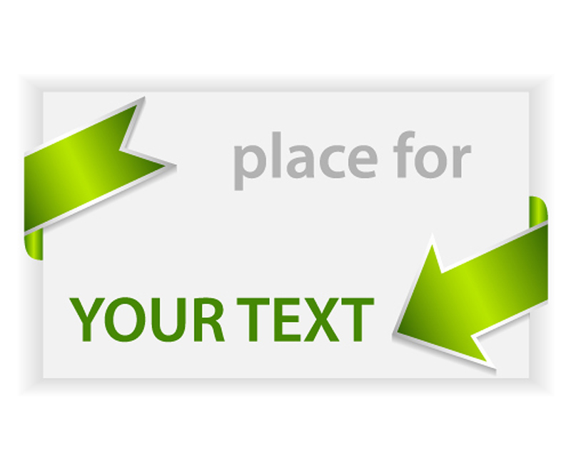 free vector Green labels indicate threedimensional 01 vector