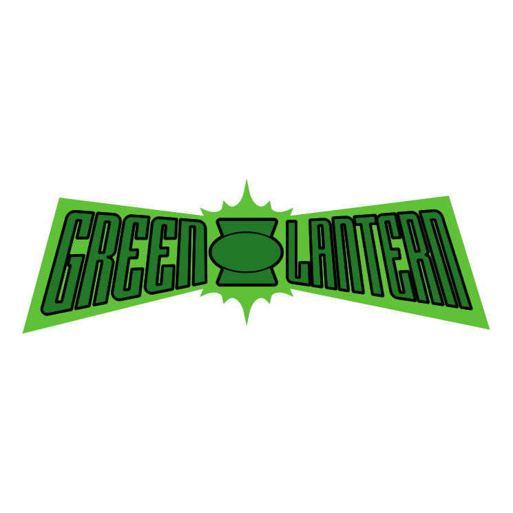 It is an image of Critical Green Lantern Clipart