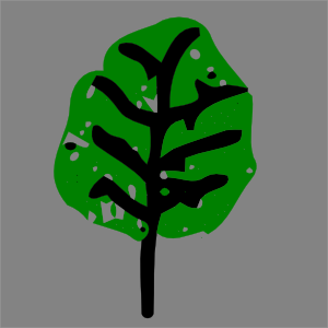 free vector Green Leaf clip art