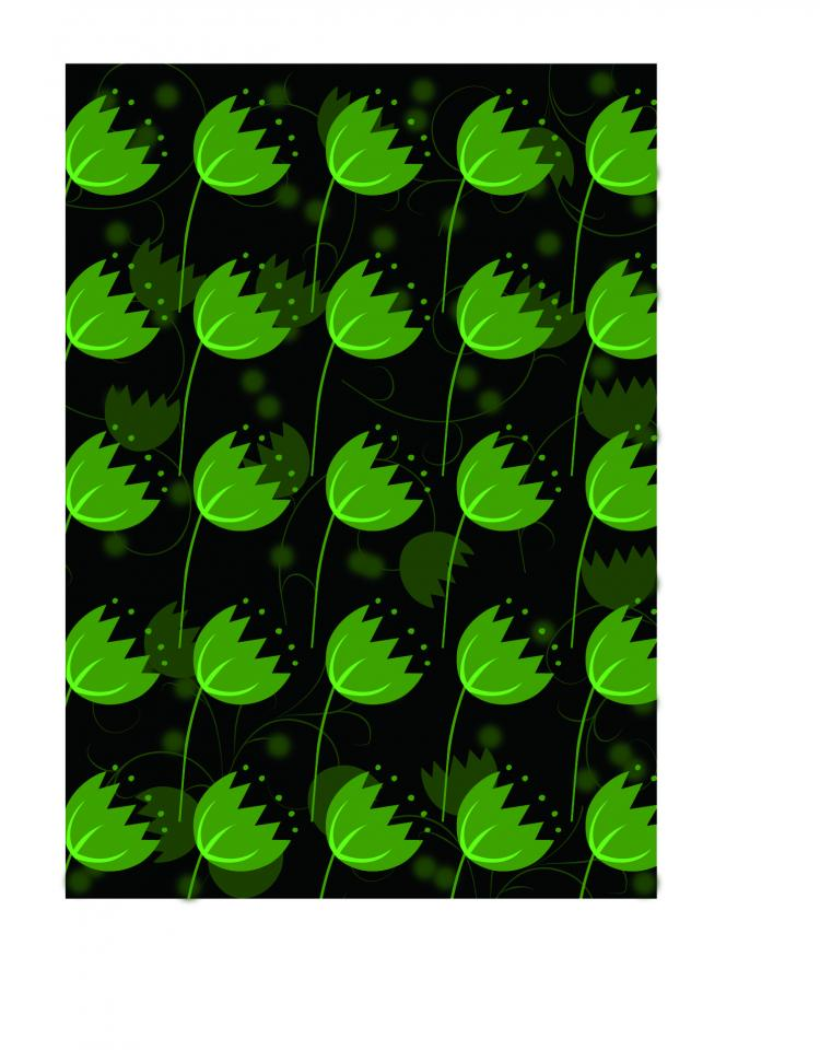 free vector Green leaves vector