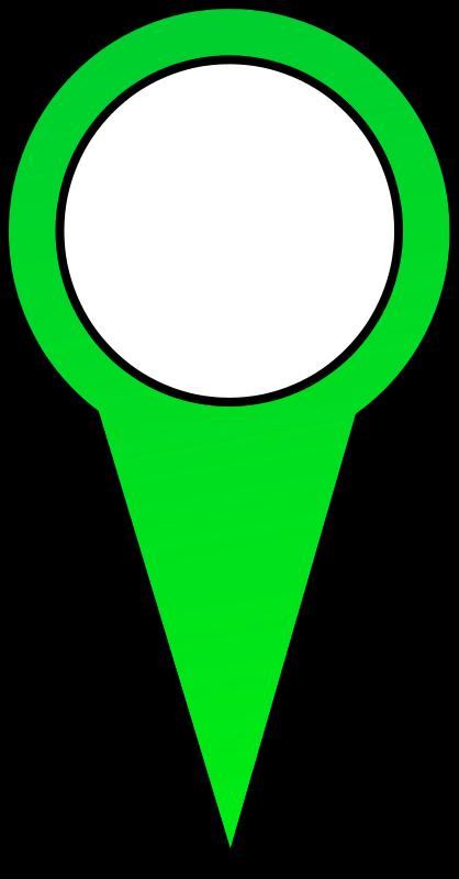 free vector Green Map Pin