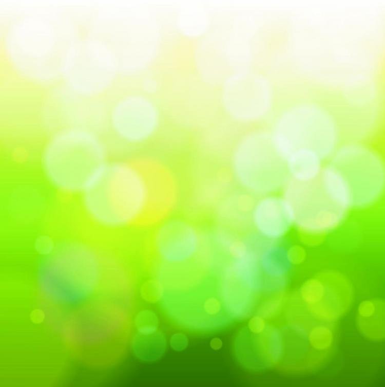 Green Natural Blur The Background 01 Vector Free Vector