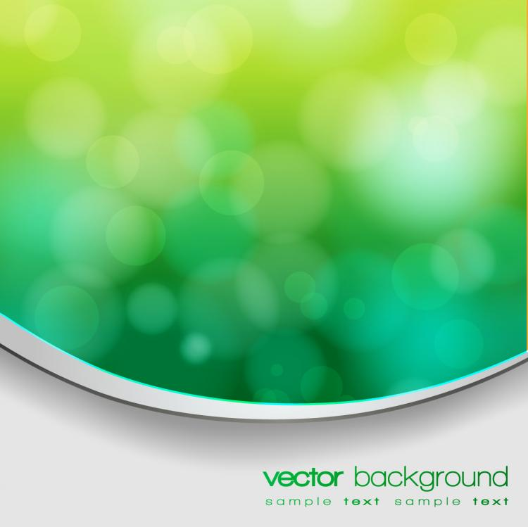 free vector Green natural blur the background 03 vector