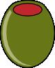 free vector Green Olive clip art