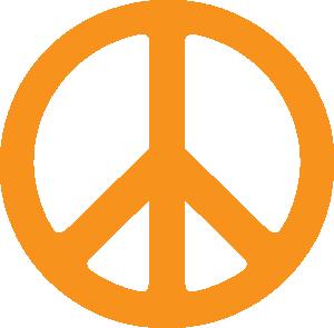 free vector Green Peace Symbol clip art
