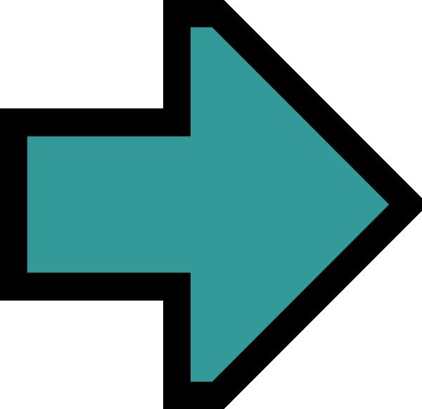 free vector Green Right Arrow clip art